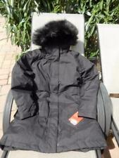 NWT WOMEN'S MEDIUM BLACK NORTH FACE ARCTIC DOWN PARKA COAT 550 DOWN INSULATED!