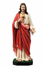 Sacred Heart of Jesus resin statue cm. 60