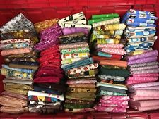 Grab Bag Clearance! Diy Mask -Top Quality Cotton Quilting Fabric 16 Yards Total