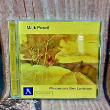 Mark Powell Whispers On A Silent Landscape Auratone Music Cd Songs Gift  2006