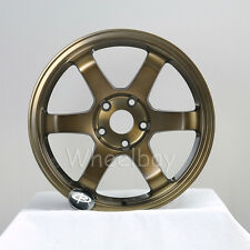 ROTA WHEEL GRID 17X8 35 & 17X9  5X114.3 42 73 FULL ROYAL SPORT BRONZE S2000 RSX