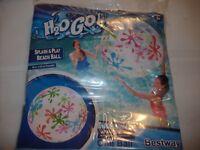 H2OGO! SPLASH & PLAY BEACH BALL 48 in.
