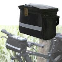 Bicycle Handlebar Bag Bike Cycle Reflective Front Pannier Waterproof Outdoor AU