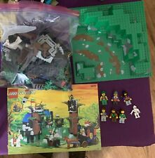 LEGO Castle Dark Forest Fortress (6079) 100% Complete, Beautiful Condition.