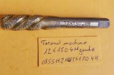 Taraud machine  hélicoïdal HSS-M2 gauche 12X150 (12X1.50) 4H