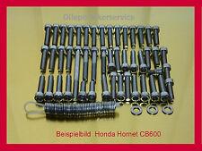 HONDA HORNET CB 900/CB 600/CBF 600-Viti in Acciaio Inox Set di viti motore