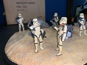 Star Wars Looks Sir Droids Diorama Sideshow Stormtroopers Cinerama NEW