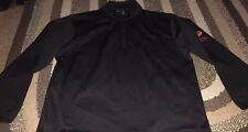Pebble Beach Men's Performance 1/4 Zip Long Sleeve Pullover Black Sz Large