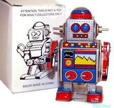 Vintage Style Windup Mini Robot Tin Toy SALE!