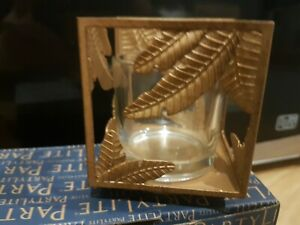 Partylite Square Votive Pair BNIB - P92644