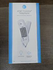 New listing At&T Trimline 210 Corded Telephone *White* - New still in sealed box