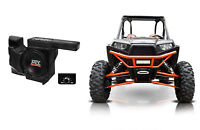 "MTX RZRXP-10 Powered 10"" 500w Under Dash Subwoofer+Enclosure for Polaris RZR/UTV"