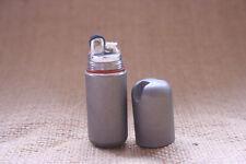 NAGATAC Eclipse Titanium Peanut Petrol Lighter Outdoor Survival