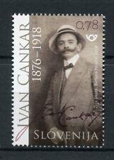 Slovenia 2018 MNH Ivan Cankar 1v Set Writers Authors Literature Stamps