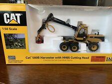 Norscot 55123 Caterpillar Cat 580b Harvester W/ Hh65 Cutting Head O Scale