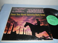 Various Country & Western Jamboree (LP) ALMOR A 107 Jimmy Dean EX/EX Top!