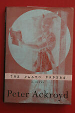 THE PLATO PAPERS - A NOVEL by Peter Ackroyd - 1st Edition (Hardcover/DJ, 1999)