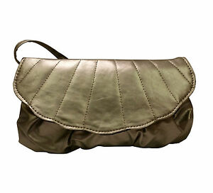 """Avon """"Courtney"""" Silver Cross Body Bag with Scalloped Edge details"""