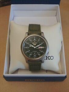 Seiko 5 SNK805 Automatic Field Watch