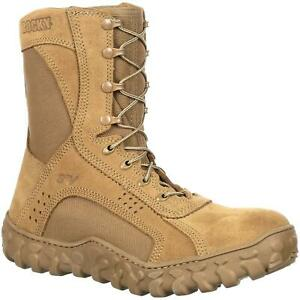 Rocky S2V Steel Toe Military Boots (RKC053) Coyote Brown Army OCP / Navy NWU