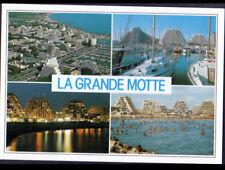 LA GRANDE-MOTTE (34) RESIDENCES illuminée & PORT en 1995