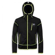 DUCATI D-Active Sweatshirt Sweatjacke Kapuze Sport Jacke schwarz NEU !!
