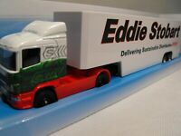 EDDIE STOBART ARTIC MODEL WHITE BOX TRAILER CORGI EDDIE STOBART CONTAINER TRUCK