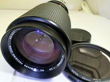 Vivitar 75-205mm f3.8 Manueller Fokus Objektiv für Nikon Ai Mount Fe Fm Kameras