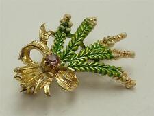 Enamel Gold Vintage Costume Jewellery (1970s)