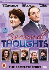 SECOND THOUGHTS & FAITH IN THE FUTURE  BBC Comedy R2 PAL DVDs! Lynda Bellingham