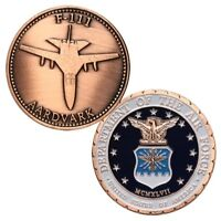 U.S. United States Air Force USAF | F-111 AARDVARK | Military Copper Plated Coin