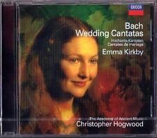 Emma KIRKBY & Christopher HOGWOOD: BACH Wedding Cantata Hochzeitskantaten CD Neu