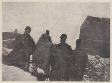 D7160 Libia - Tripolitania - Nevicata sul Gebel - Stampa d'epoca - 1920 print