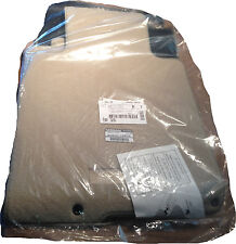 2012 Infiniti G37 4 Door SEDAN Carpeted Floor Mats - FACTORY OEM SET - Beige