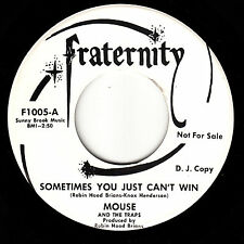 MOUSE & THE TRAPS - Fraternity 1005 - Sometimes You Just Can't Win- GARAGE DJ 45