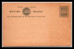 GP GOLDPATH: BRITISH GUIANA POSTAL CARD MINT _CV748_P09