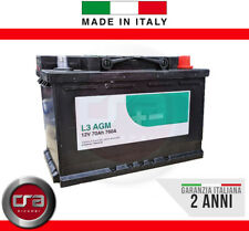 Batteria Auto  L3 70Ah 760A 12V AGM Start & Stop = Fiamm VR760 MADE IN ITALY