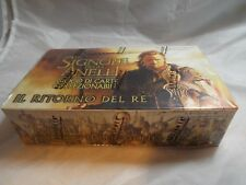 LORD OF THE RINGS TCG ITALIAN RETURN OF THE KING SEALED BOOSTER BOX OF 36 PACKS