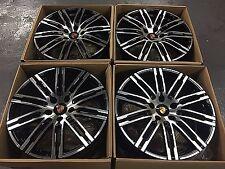 21 Porsche Cayenne S 2016 Hybrid Wheels Polished/Black Set of 4 NEW