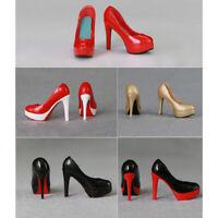 """12"""" Female Figure Pumps 1/6 Scale High Heels Platform Shoes for Phicen/TBLeague"""