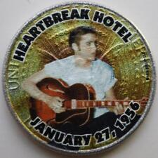 JFK KENNEDY HALF DOLLAR ELVIS PRESLEY - '56 HEARTBREAK HOTEL COLORIZED COIN