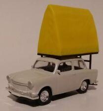 Trabant 601 mit Dachzelt Camping Car 1:64 Modellauto Modellfahrzeug Pkw der DDR