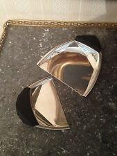 Art Déco , ramasse miettes , en métal argenté,