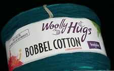 (8,33 €/100g): 200 Gramm Woolly Hugs Bobbel Cotton Farbe 10  #1223