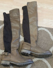 Womens Dirty Laundry Size 7.5 Knee High Tan/Brown Tall Boots Western Riding