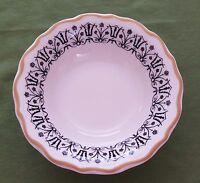 Vintage Syracuse China USA 5-I Scalloped Edge Dessert or Fruit Bowl