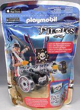Playmobil Pirates 6165 Schwarze App-Kanone mit Seeräuber Pirat Waffen NEU NEW