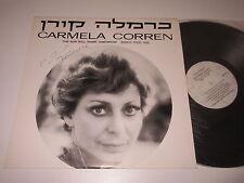 LP/CARMELA CORREN/THE SUN WILL SHINE TOMORROW/mit Autogramm /Signed