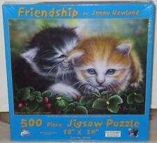 SunsOut FRIENDSHIP Cat Kitten Pets Kittens 1000+ Piece Puzzle Jenny Newland