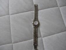 Ladies  Watch Design Q & Q Japan Movement Stainless Steel Gold Band Quartz Watch